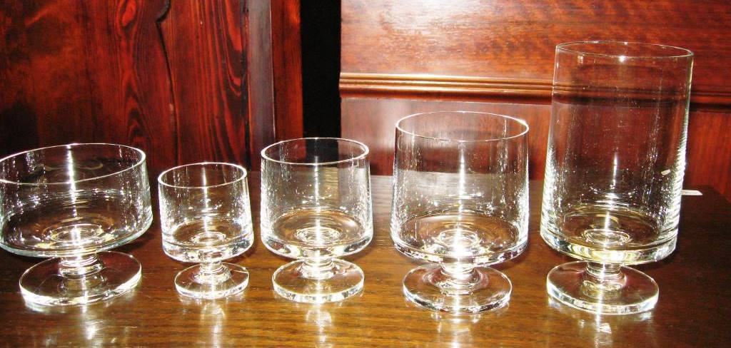 holmegaard lampe klar glas